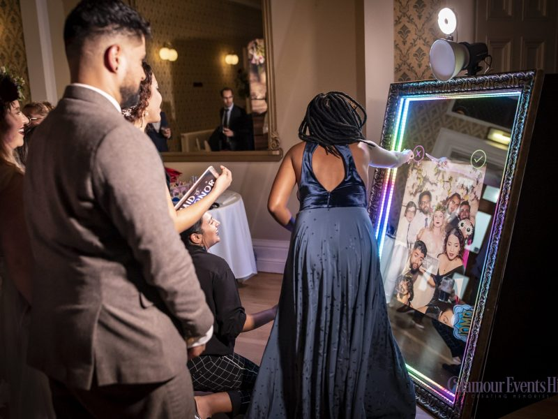selfie mirror hire for birthdays weddings events parties in chester