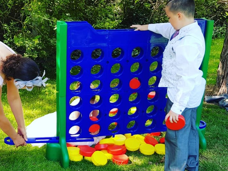 Giant Connect 4 Hire Wrexham