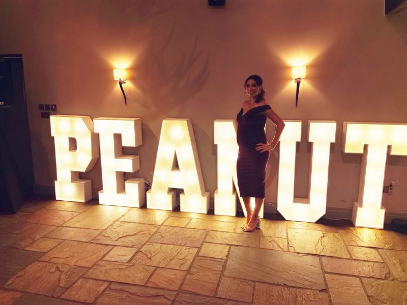 light up letters for weddings, corporate events and parties in chester