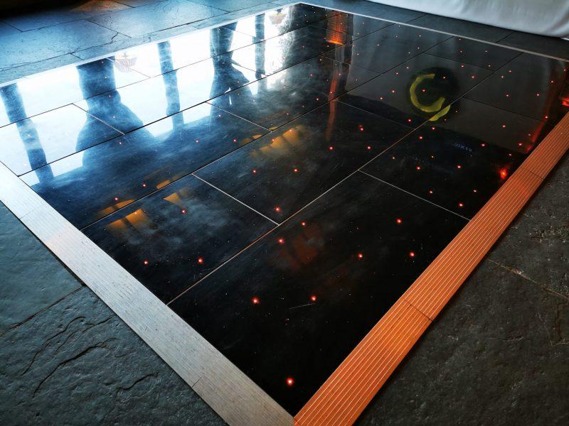 black LED Dancefloor Chester