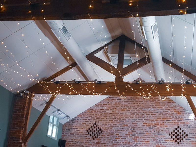 fairy light canopy, arley hall