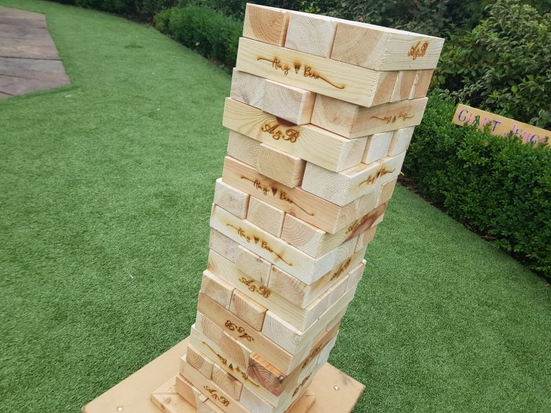 giant jenga game hire chester