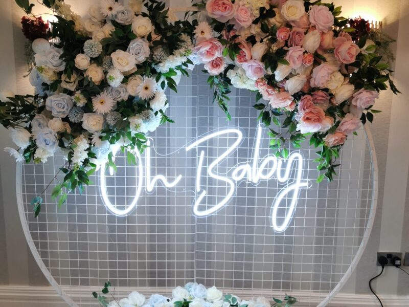 Baby Shower Photo Backdrop
